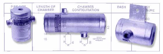 Shirlee industries inc instru chamber condensate seal